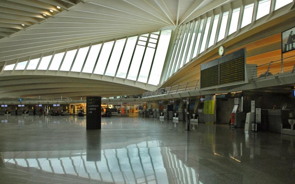 l'aéroport de Bilbao